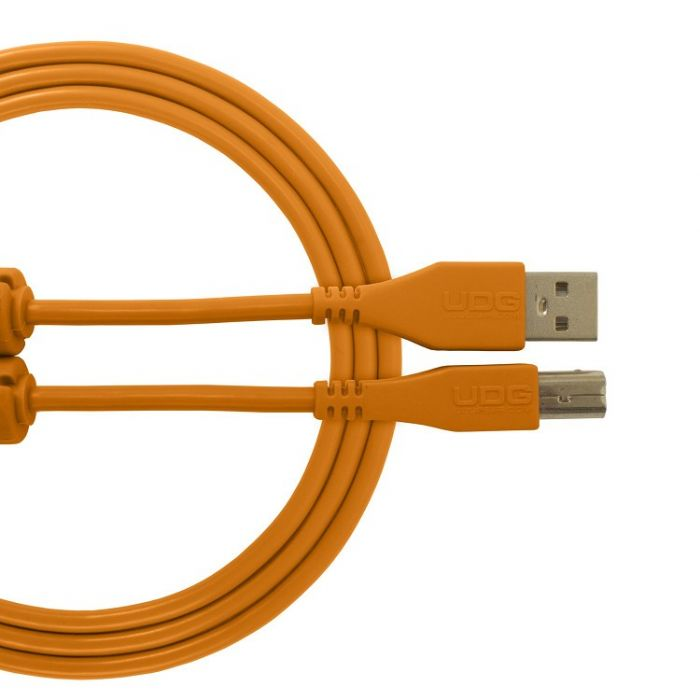 UDG Ultimate Audio Cable USB 2.0 A-B Orange Straight 3M