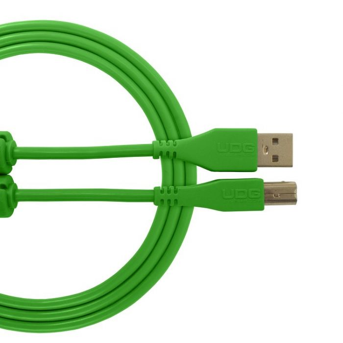 UDG Ultimate Audio Cable USB 2.0 A-B Green Straight 3M