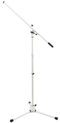 סטנד מיקרופון בצבע לבן On Stage