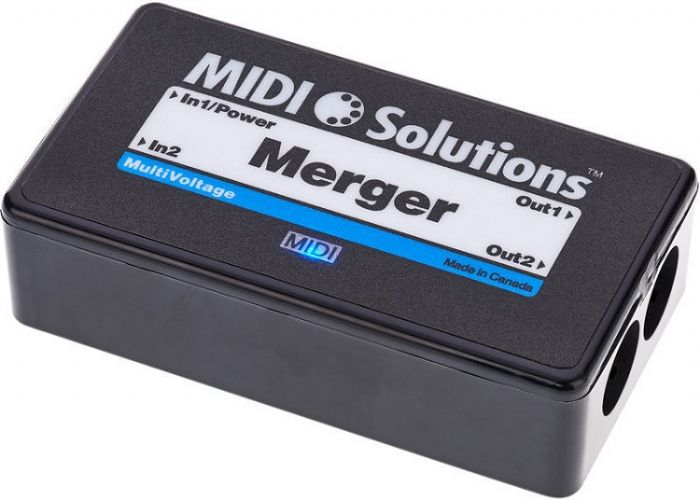MIDI Solutions Merger מסכם MIDI