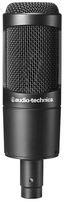 מיקרופון קונדנסר אולפני Audio Technica AT2035