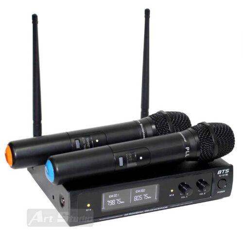 זוג מיקרופונים אלחוטיים BTS IU-1013D