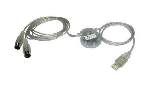 ממשק MIDI בחיבור USB (כבל USB – MIDI) מבית iCON MIDIPORT