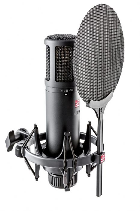מיקרופון קונדנסר אולפני sE Electronics sE2200