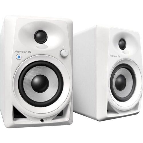 רמקולים אקטיבים Bluetooth שולחניים 4-אינץ' צבע לבן Pioneer DM-40BT-W