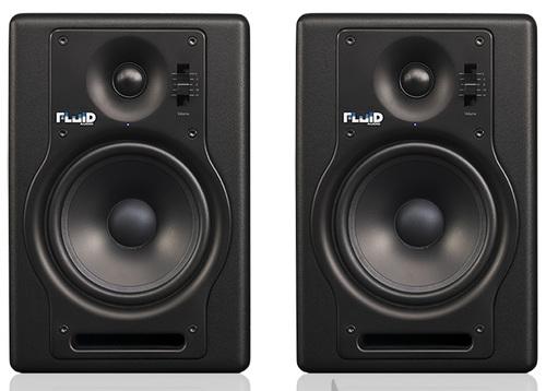זוג מוניטורים אולפניים Fluid Audio F5 Fader series