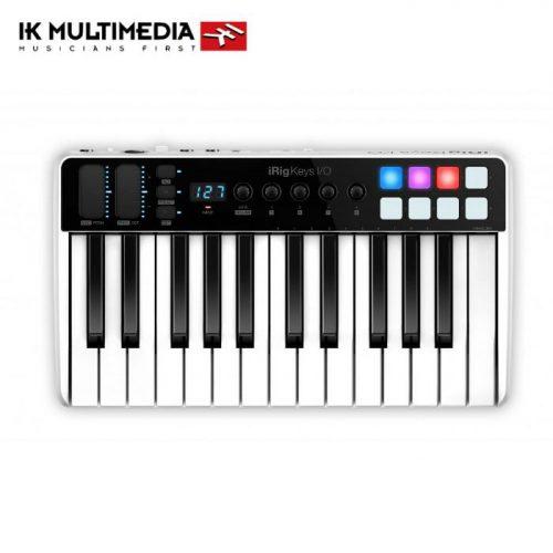 מקלדת שליטה כרטיס קול IK Multimedia iRig Keys I/O 25