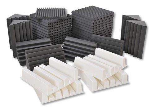 חבילת ספוגים לאקוסטיקה לחדר EZ Foam Acoustic Pack Large מבית EZ Acoustics