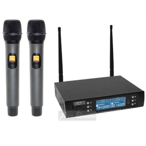 זוג מיקרופונים עם תדר משתנה BTS IU-1008 Pro