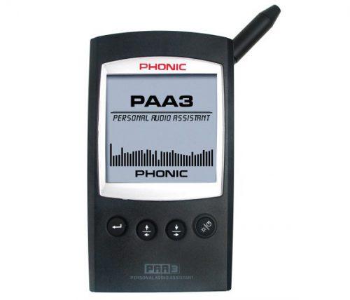 מכשיר מדידת אודיו רב תחומי Phonic PAA3