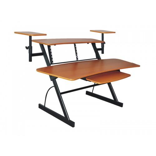שולחן עבודה לאולפן מקצועי עם מעמדים למוניטורים Apextone