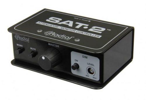 שלט עוצמה מקצועי למוניטורים Radial SAT-2