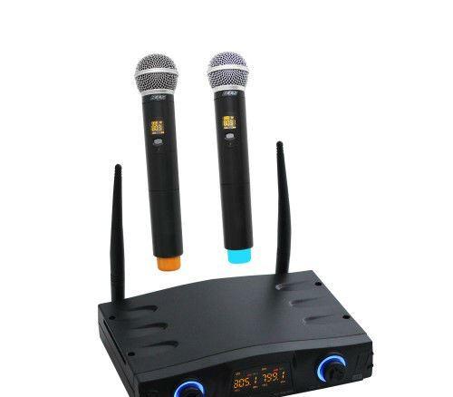 זוג מיקרופונים אלחוטיים עם 6 ערוצים BTS IU-1008-6DR