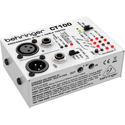 בודק כבלים Behringer CT100