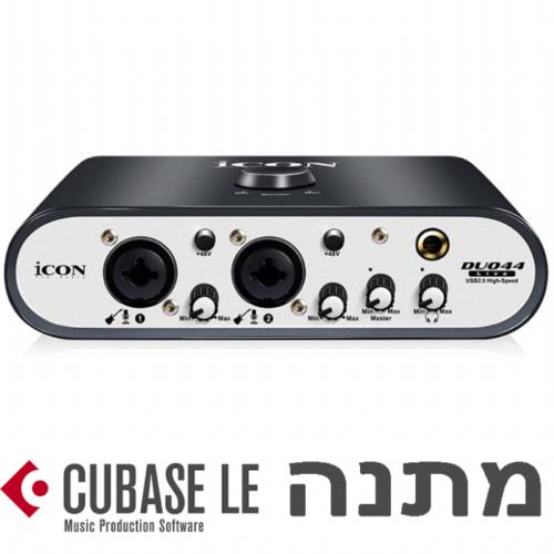 כרטיס קול iCON Duo 44 Live