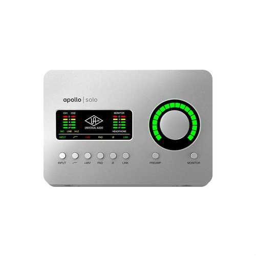 כרטיס קול Universal Audio Apollo SOLO