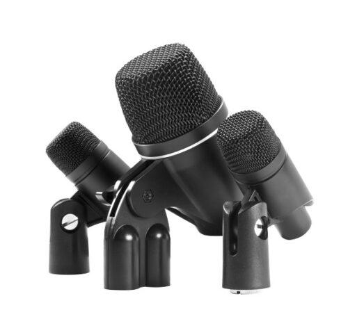 סט תופים שלושה מיקרופונים MXL DRUM-PA-5K