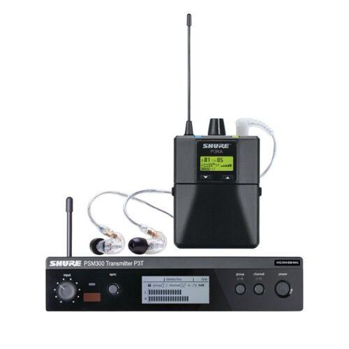 מערכת In-Ear אלחוטית Shure PSM300 P3TRA215CL