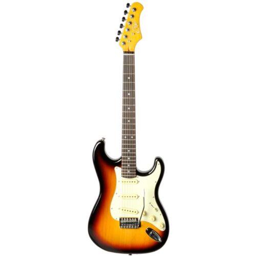 גיטרה חשמלית Eko S300-V Vintage Sunburst