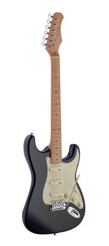 גיטרה חשמלית בצבע שחור James Neligan Guitars SES50MBK