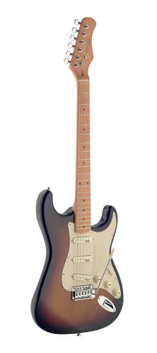 גיטרה חשמלית בצבע זריחה James Neligan Guitars SES50MSB