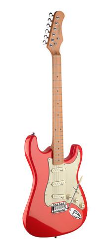 גיטרה חשמלית בצבע אדום James Neligan Guitars SES50MFRD