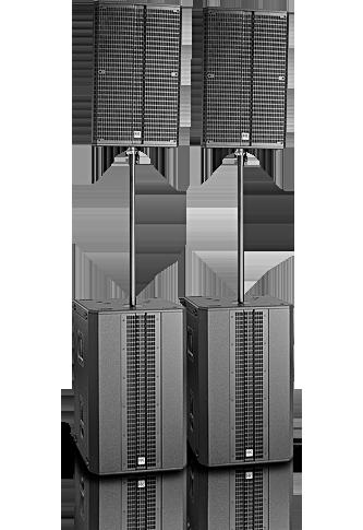 מערכת הגברה מוגברת HK Audio Power Pack