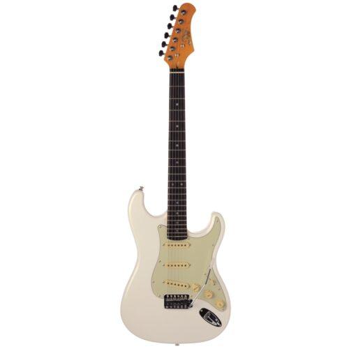גיטרה חשמלית Eko S300-V Olympic White