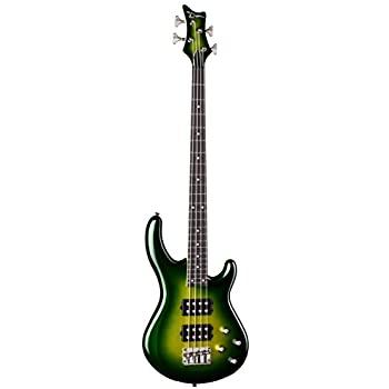 גיטרה בס בצבע ירוק Dean Guitars EDGE 3 ELECTRIC GREEN METALLIC BURST