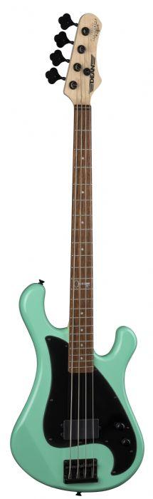 גיטרה בס בצבע ירוק ים Dean Guitars JON LAWHON HILLSBORO BASS