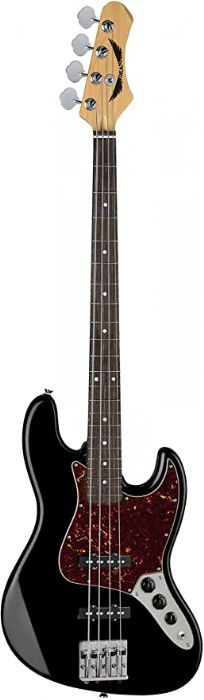 גיטרה בס בצבע שחור קלאסי Dean Guitars JUGGERNAUT MAPLE FB CLASSIC BLACK