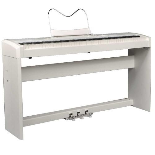 פסנתר חשמלי עם סטנד RINGWAY RP-35+ WHITE