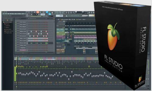 תוכנת יצירת ועריכת מוזיקה FL Studio – Fruity edition