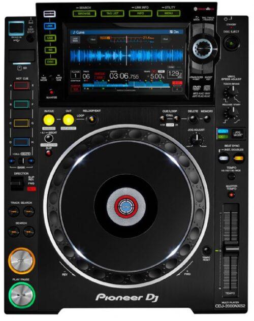 נגן מקצועי Pioneer DJ CDJ-2000NXS2