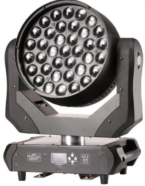 פנס חכם Lightek LED Moving Wash 37 RGBW Zoom