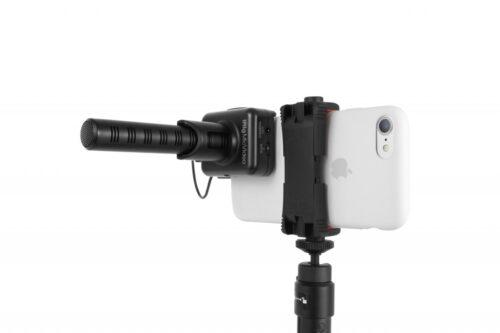 מיקרופון Shotgun דיגיטלי איכותי IK Multimedia iRig Mic Video
