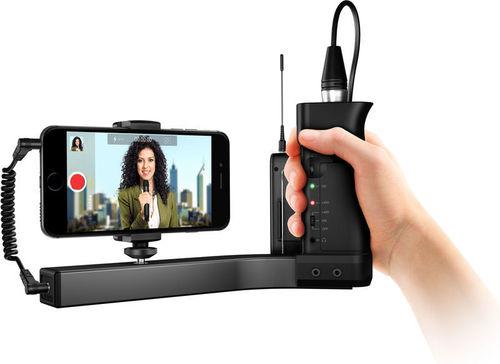 זרוע עגינה מייצבת לטלפונים חכמים IK Multimedia iKlip A/V