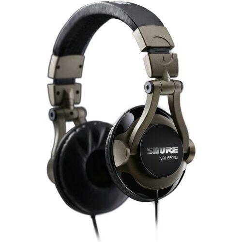 אוזניות דיג׳יי SHURE SRH550DJ