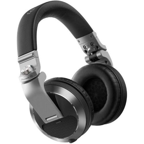 אוזניות DJ מקצועיות Pioneer HDJ-X7-S צבע כסוף