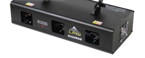 מכונת לייזר Trio RGB