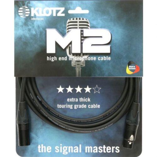 כבל מיקרופון באורכים שונים XLR-XLR מחברים Neutrik Klotz