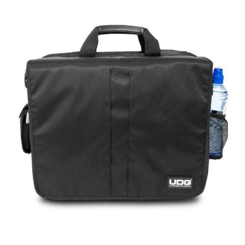 תיק נשיאה לדיג׳יי UDG Ultimate CourierBag DeLuxe Black – Orange Inside