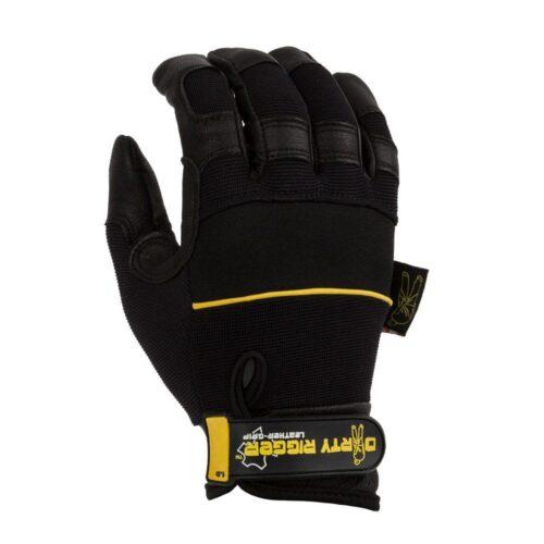 כפפות עבודה Leather Grip™ (V1.3) Heavy Duty Rigger Glove
