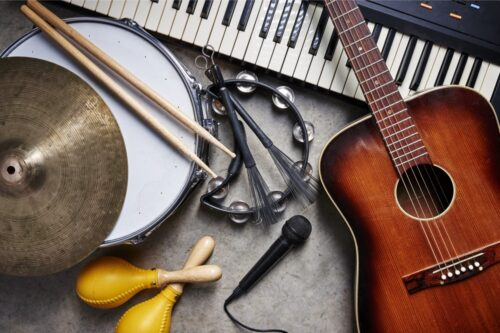 השכרת כלי נגינה