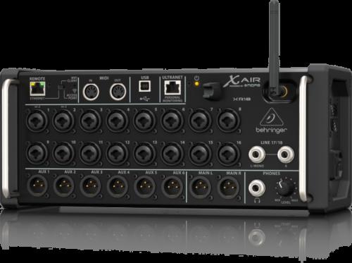 השכרת מיקסר דיגיטלי Behringer XR-18