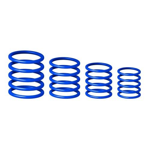 סט טבעות לסטנדים בצבע כחול Gravity